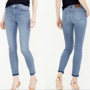 J.Crew Lookout High Rise Skinny Crop Jeans